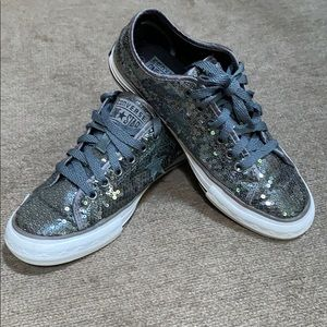 Women's Sequined One Star Sneakers